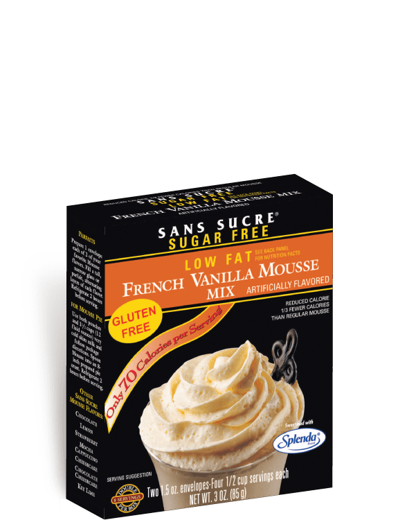 French Vanilla Mousse Mix